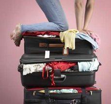 La valigia sul letto