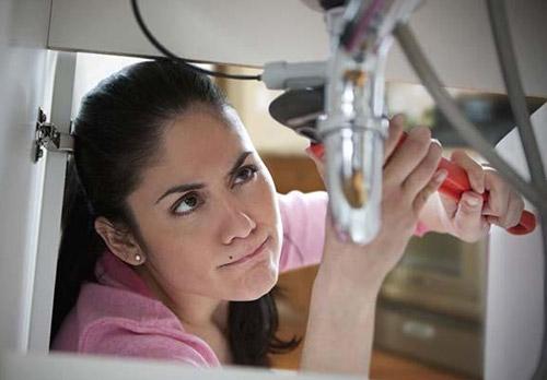 Lavandini intasati corrispondono a vite intasate - Lavandino cucina otturato ...