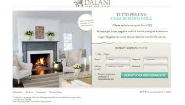 Dalani.it, la prima community di shopping online italiana dedicata al design