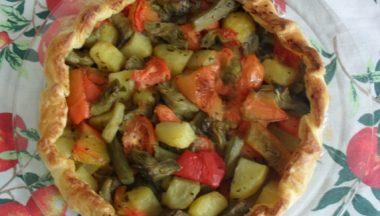 Ricetta: Torta salata alle verdure