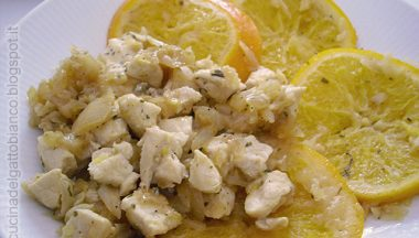 Ricetta: Pollo all'arancia e menta