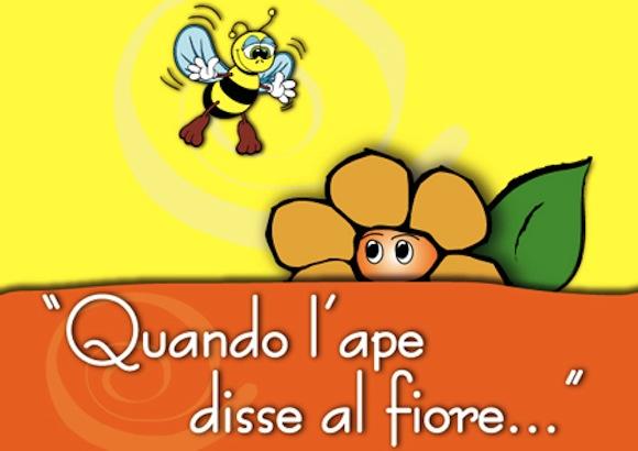 storia ape fiore