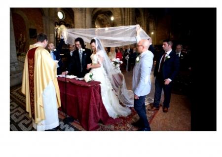 Rito ambrosiano Velazione matrimonio milano