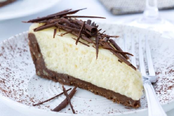 torta fredda al cocco e cioccolato