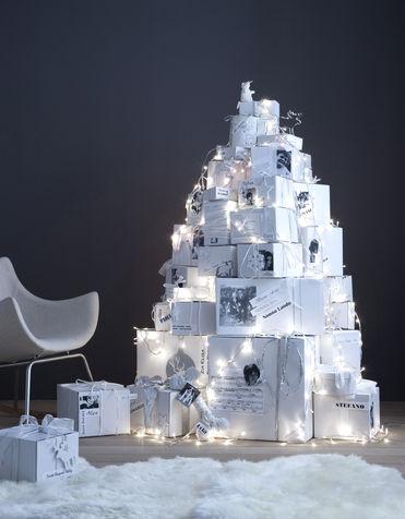 albero pacchetti regalo