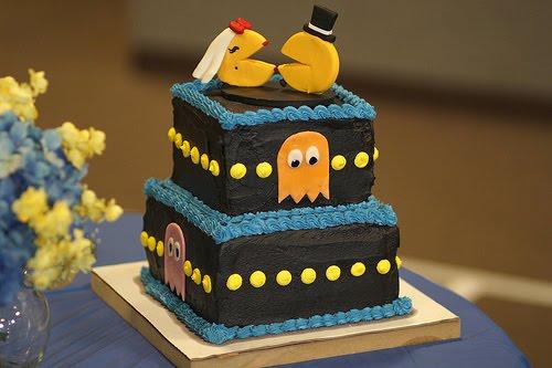 geekyweddingcakes-pacman