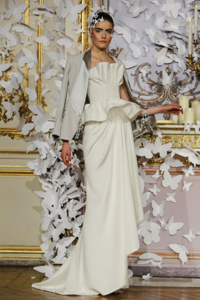 Alexis Mabille Couture Collection Spring Summer 2014 in Paris, Fashion Show.
