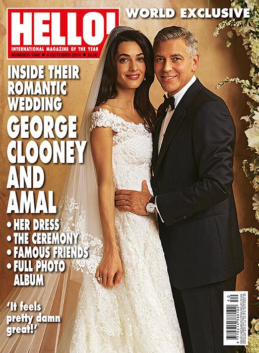 abito da sposa di amal