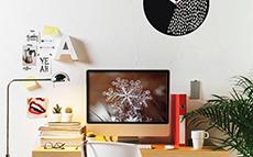 una scrivania perfetta per lavorare da casa