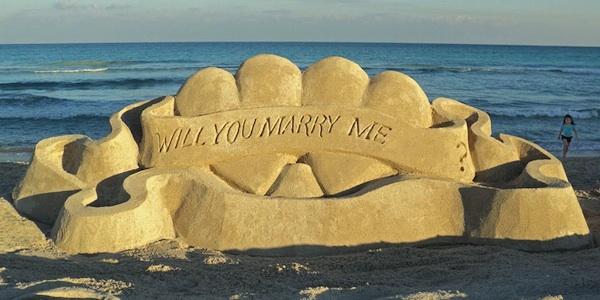 Proposta di matrimonio perfetta
