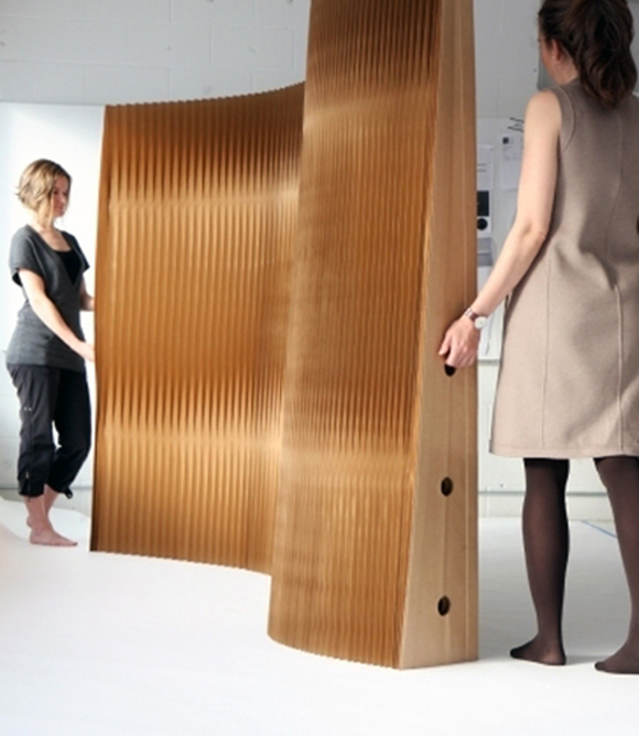 dividere un ambiente casalingo con struttura componibile