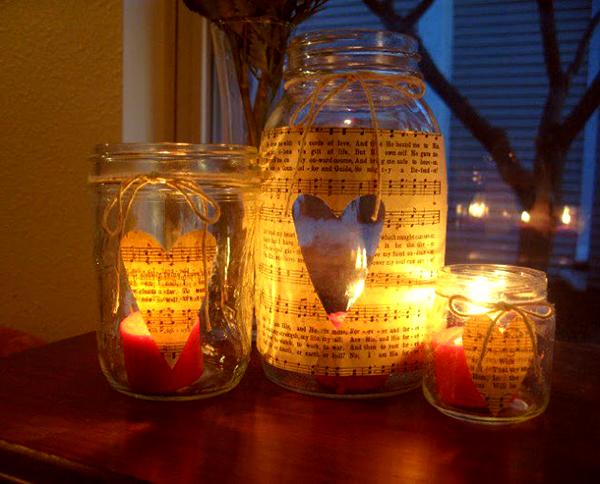 candele come regalo di san valentino