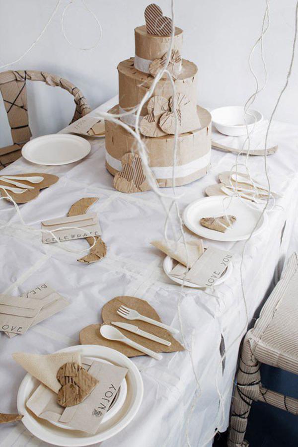 tavola imbandita al posto del classico regalo di san valentino