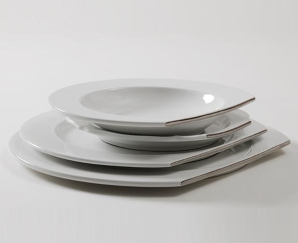piatti di design nella casa dei single