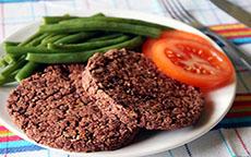 Per adulti e bambini: burger di fagioli rossi