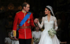 Il menù nozze di Kate e William è all'asta