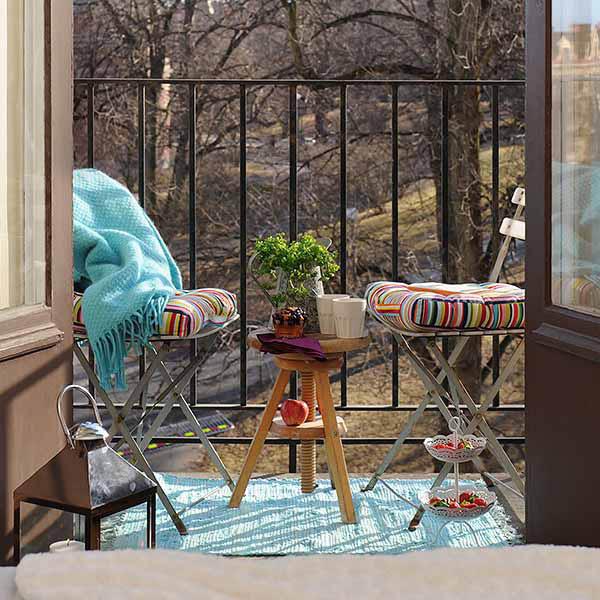 un tappeto da esterno anche per l'inverno