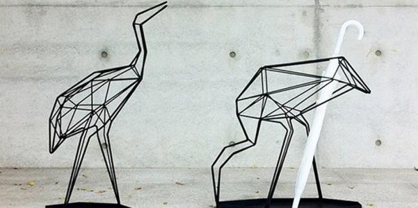 il portaombrelli origami