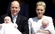 Il battesimo dei principini Jacques e Gabriella