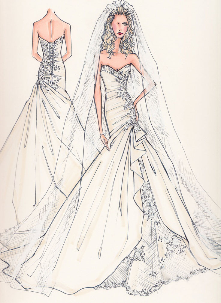 Abiti da sposa su misura online  addio brutte sorprese! 26d99ed1b3c