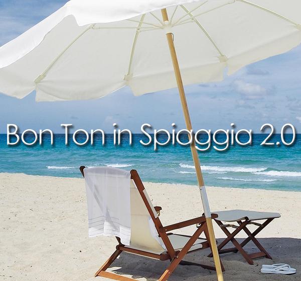 bon ton in spiaggia