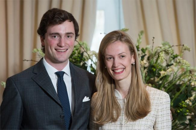 Principe Amedeo del Belgio e Elisabetta Rosboch von Wolkenstein
