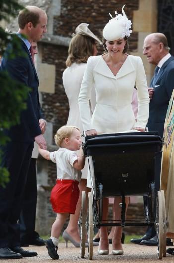 battesimo della principessa charlotte