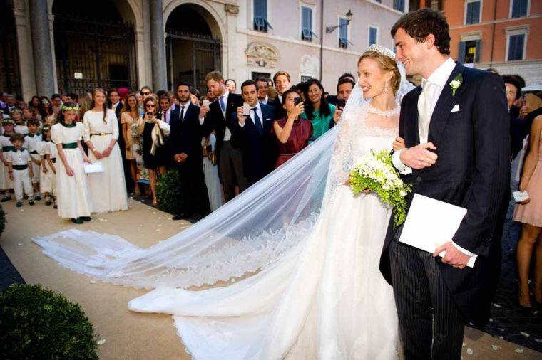 Matrimoni Principe Amedeo del Belgio e Elisabetta Rosboch von Wolkenstein