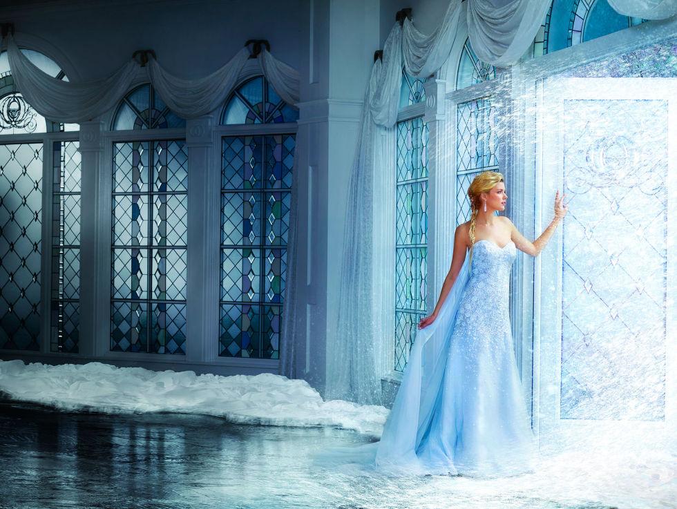 0c4ee9308813 Gli abiti da sposa delle principesse Disney by Alfred Angelo