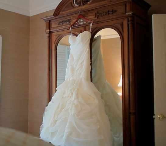 conservare il wedding dress