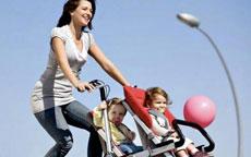 Come andare in bicicletta con i piccoli in tutta sicurezza