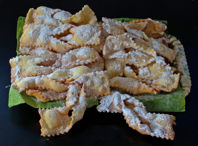 ricette carnevale, CHIACCHERE