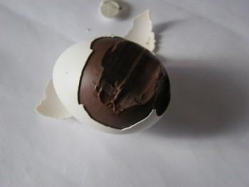 uovo di pasqua fatto in casa