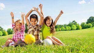 domenica al parco con i bambini