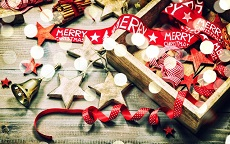 riporre le decorazioni natalizie