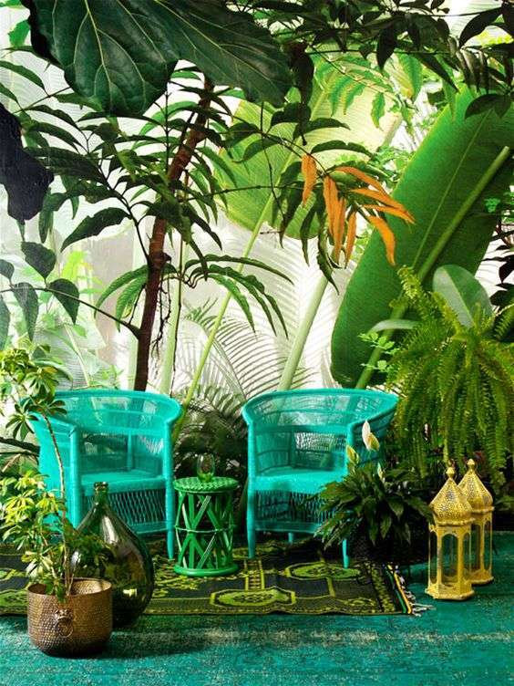 Casa in stile tropical