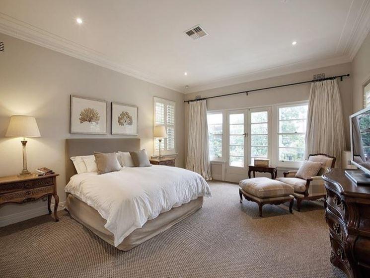 Pareti color tortora come scegliere la giusta sfumatura - Quadri sopra testata letto ...