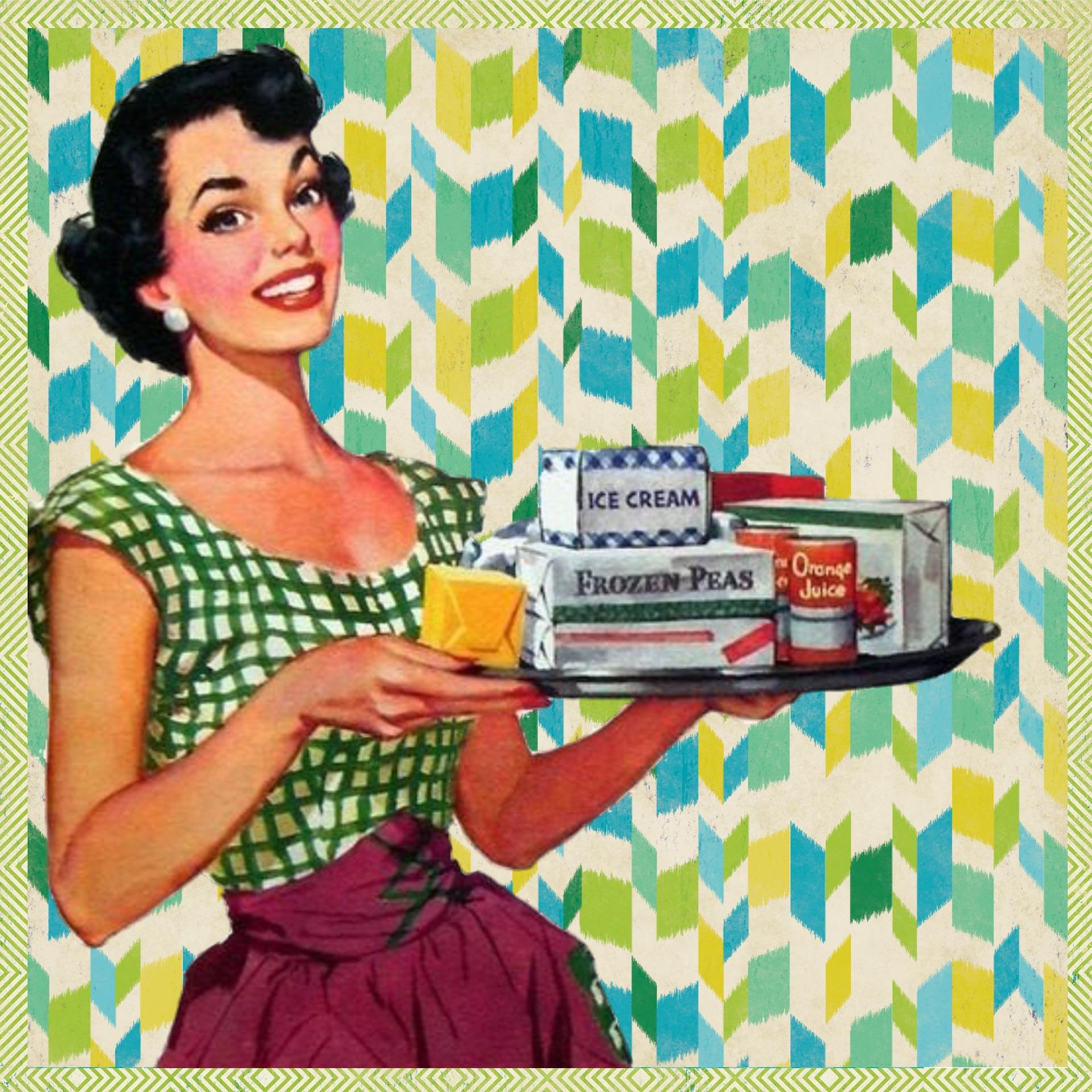 Donne nella pubblicità, ieri e oggi
