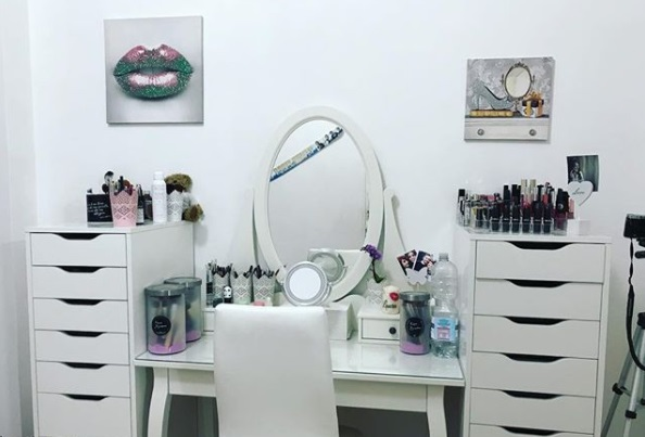 postazione make up